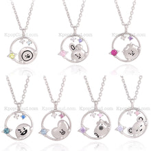 Load image into Gallery viewer, [BT21 x OST] Official Silver .925 Necklace ver.2