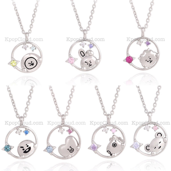 [BT21 x OST] Official Silver .925 Necklace ver.2