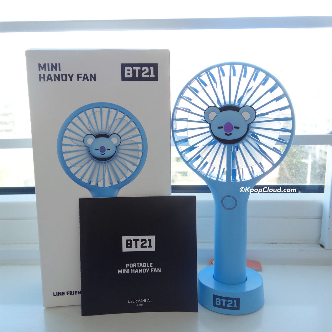 BT21 Official Koya Handy Fan Air Cooler (Free Express Shipping)