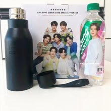 Load image into Gallery viewer, BTS x Chilsung Cider - Special Package 5 Bottles + Stainless Steel Tumbler