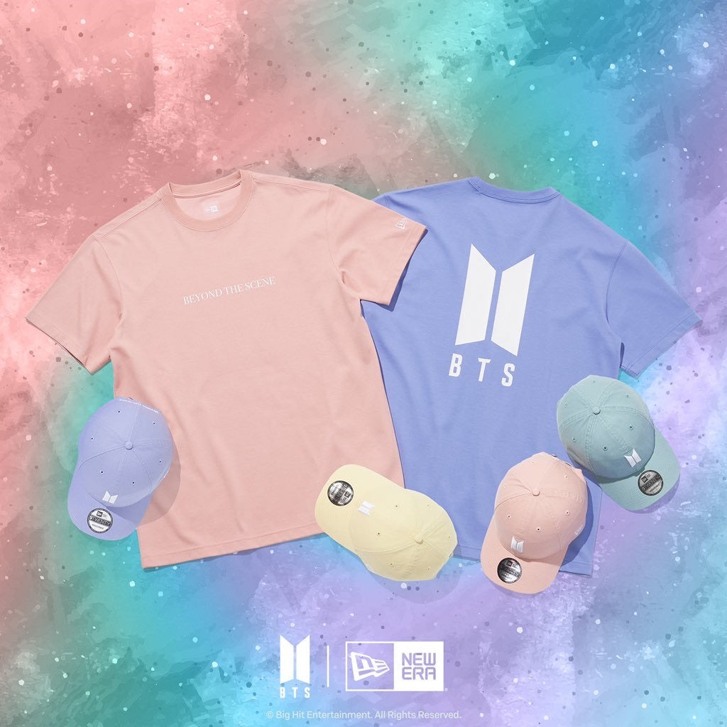 [NEW ERA X BTS] Beyond The Scene T-shirt