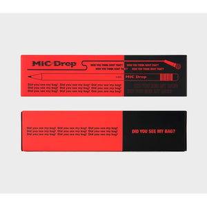 BTS OFFICIAL MIC DROP Pencil Set (12pcs)