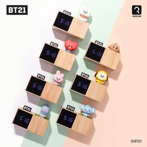 [LINE X BT21] LED Digital Desk Clock