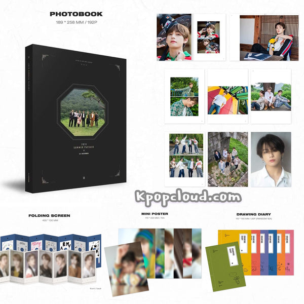 BTS 2019 SUMMER PACKAGE in KOREA (Free Shipping)