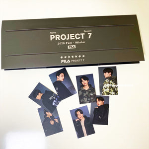 [FILA X BTS] Project 7: Standing Photocards Set