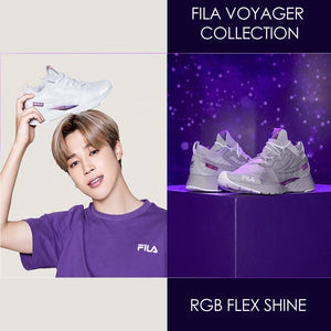 FILA X BTS - Voyager Collection RGB Flex SHINE Sneakers