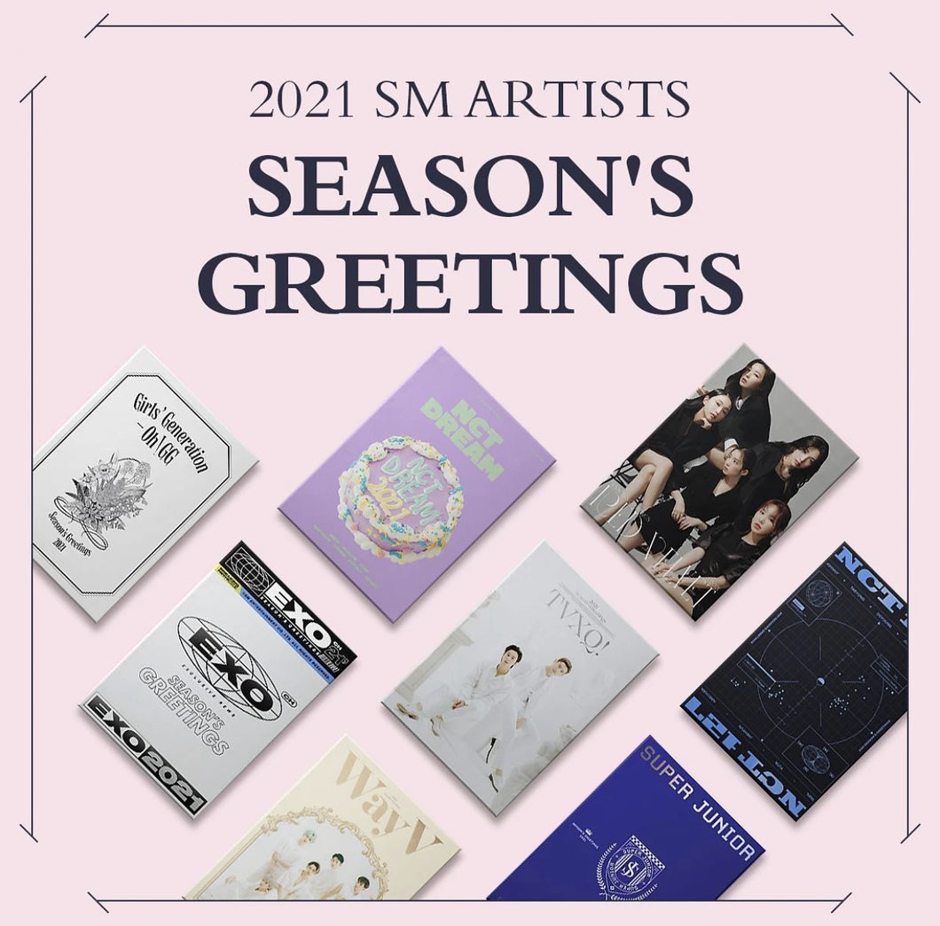[SM ENT] 2021 SM ARTIST SEASON'S GREETINGS