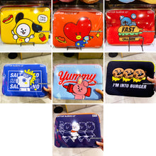 "Load image into Gallery viewer, BT21 Official 13"" Laptop Sleeve BITE Ver"