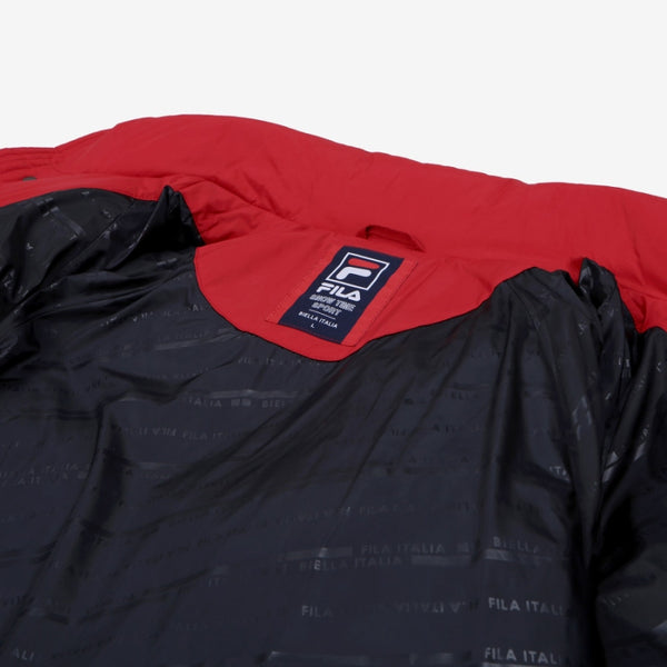 FILA X BTS - Tapey Short Down Dark Red