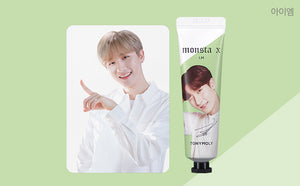 [TONY MOLY x MONSTA X] Hand Cream + Member PhotoCard + Message Card