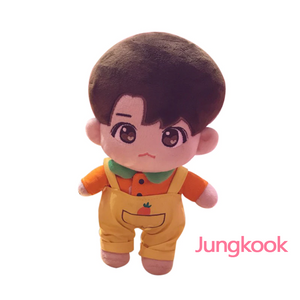 BTS Plush Doll with Clothes