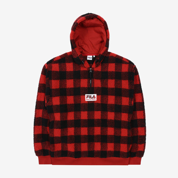 FILA X BTS - Box Logo Boa Hooded T-shirt
