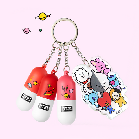 [BT21] Official VT Cosmetics Mini Lippie Stick KIT 1.4g * 3