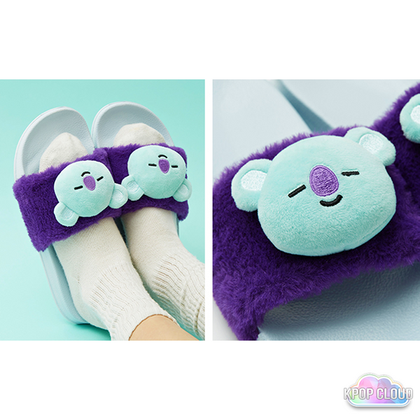 [BT21] Official Limited Plush Slippers