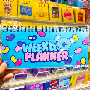 BT21 Official Weekly Planner