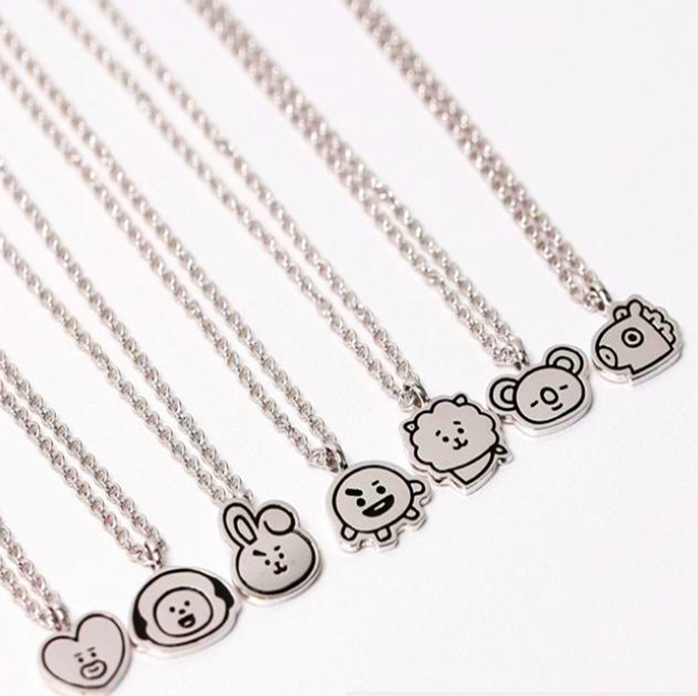[BT21] OST Silver 925 Necklace
