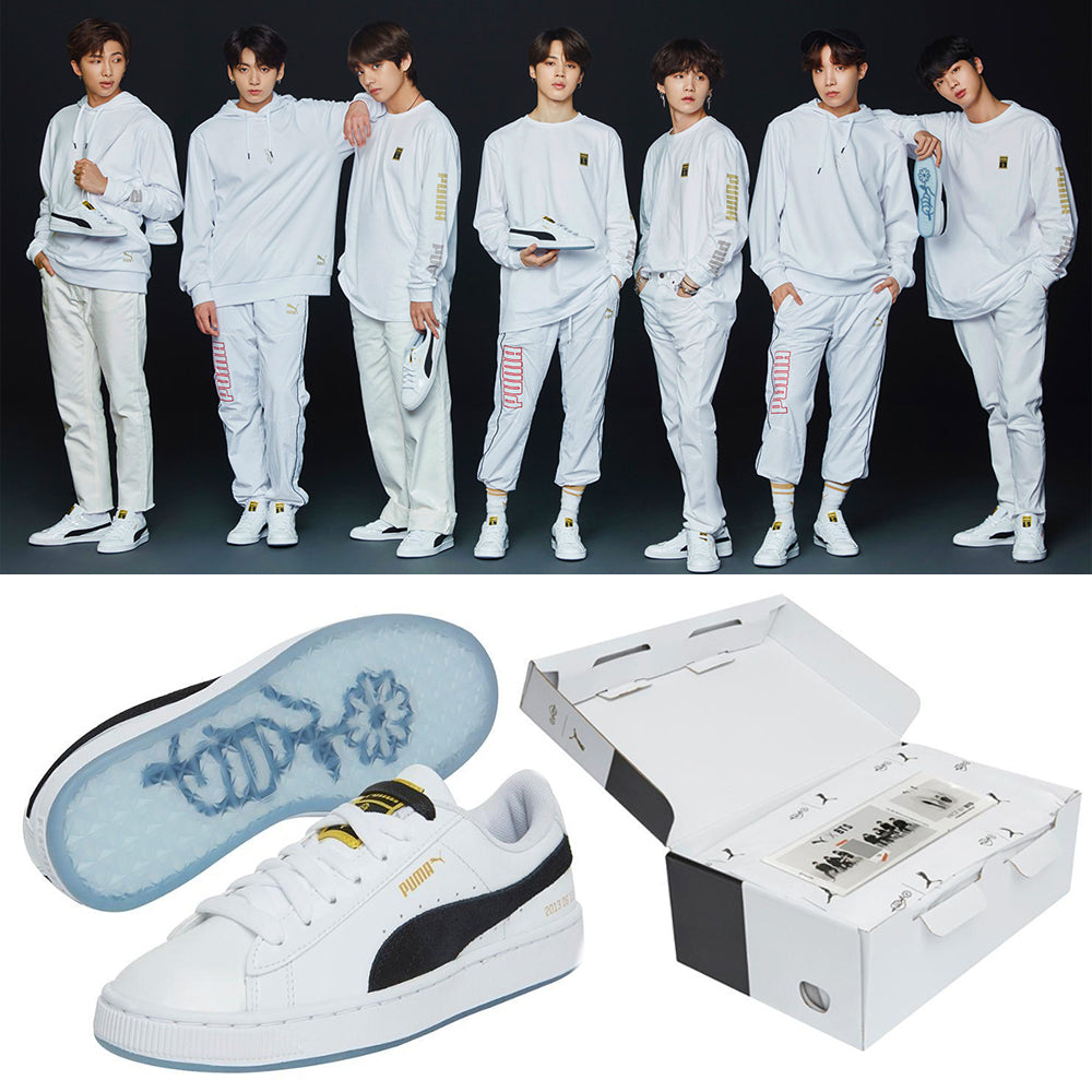 half off aa455 7c13d [LIMITED EDITION PUMA X BTS] BTS Basket Patent Sneakers