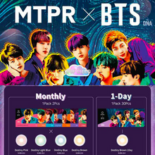 Load image into Gallery viewer, [MTPR X BTS] Color Lens + Random Photocard