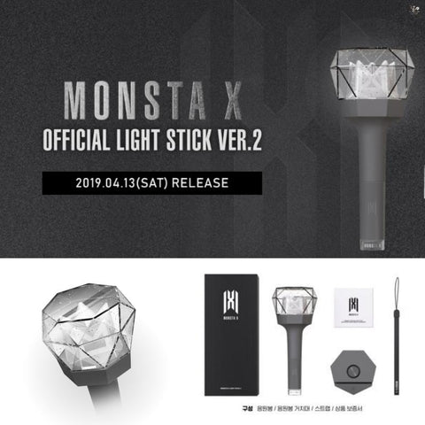MONSTA X - Official Lightstick 2.0 (Free Shipping)