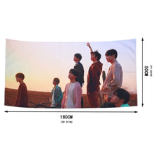 Load image into Gallery viewer, [BTS] Home Decoration Photo Tapestry/Wallpaper 100x50cm