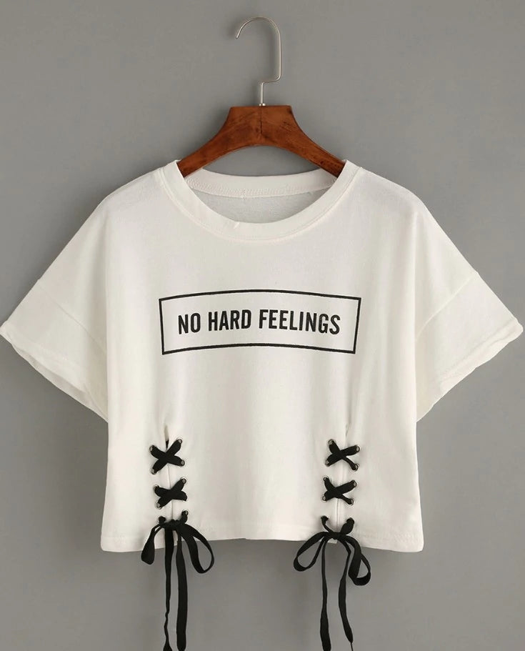 [AsianFashion] ''No hard feelings'' Shirt