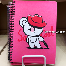 Load image into Gallery viewer, BT21 Official Spiral Ring Notebook