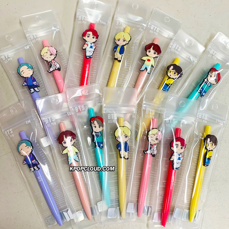 OFFICIAL HOUSE OF BTS SEOUL MD – BABY CHARACTER GEL PEN