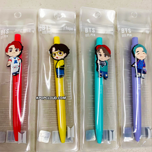 Load image into Gallery viewer, OFFICIAL HOUSE OF BTS SEOUL MD – BABY CHARACTER GEL PEN