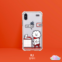 Load image into Gallery viewer, BT21 Official Clear Roomies Bumper Case