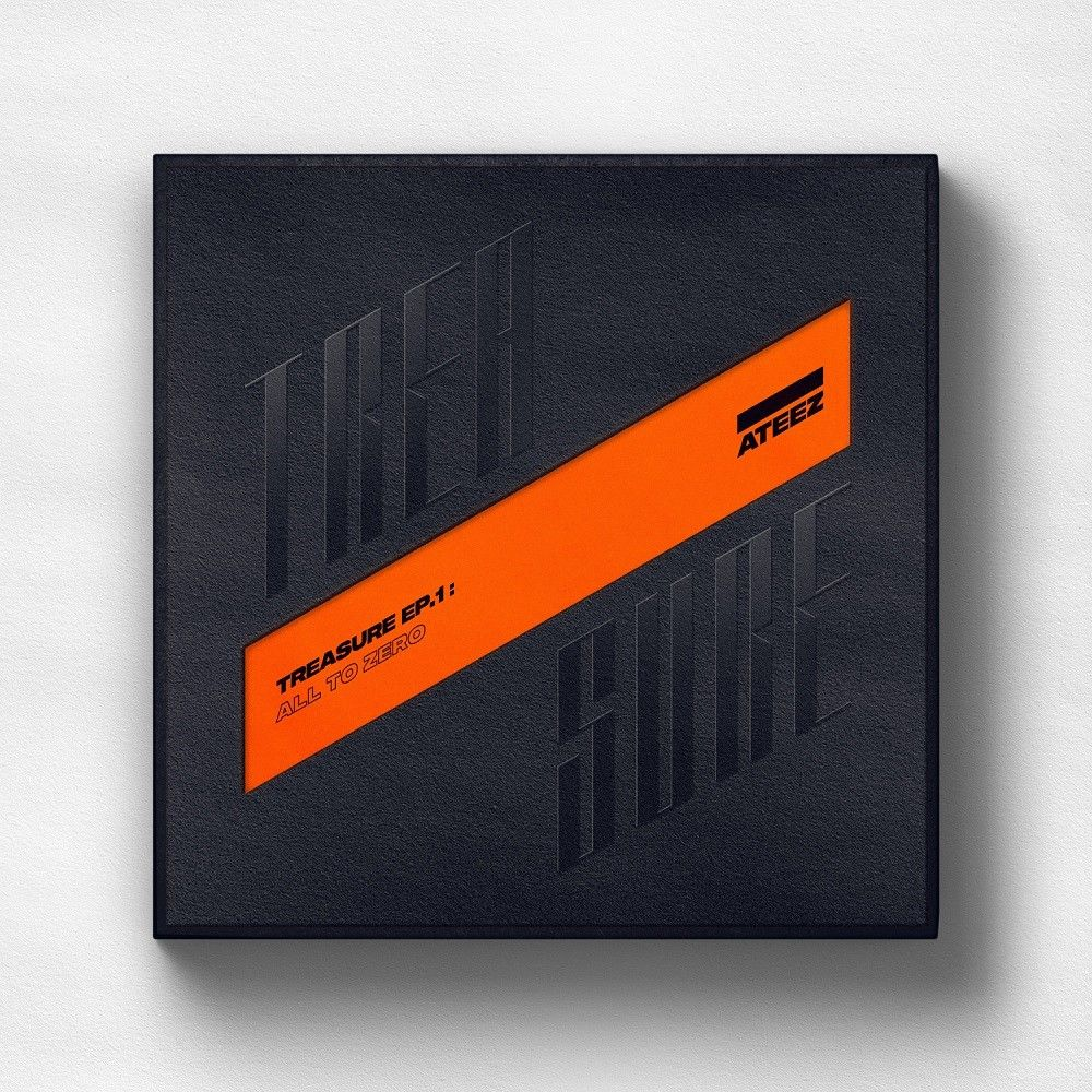 ATEEZ - TREASURE EP.1 : All To Zero CD + Folded Poster (Free Shipping)