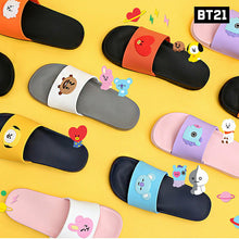 Load image into Gallery viewer, [BT21 x Line Friends] Silicone Slippers