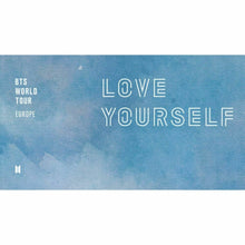 Load image into Gallery viewer, BTS World Tour LOVE YOURSELF in EUROPE DVD (Free Shipping)