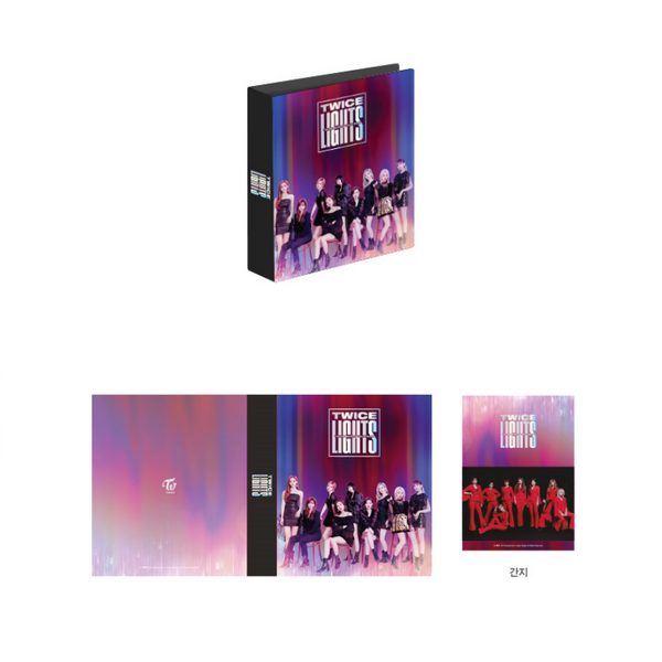 TWICE 2019 WORLD TOUR OFFICIAL PHOTO BINDER BOOK