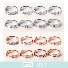 Load image into Gallery viewer, [OST X BT21] Official Silver 925 Ring