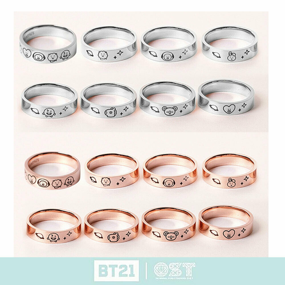 [OST X BT21] Official Silver 925 Ring