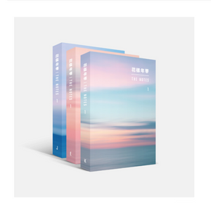 [BIG HIT] BTS -The Most Beautiful Moment in Life: The Notes 1 (Korean, English, Japanese Ver + Free Shipping.)