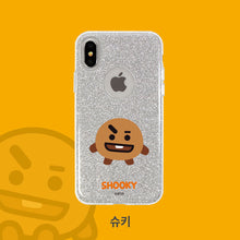 Load image into Gallery viewer, [BT21] Glitter Case for Iphone and Galaxy
