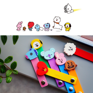 [BT21] Official Colorful Cable Cord Ties