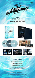 "GOT7 2019 World Tour ""KEEP SPINNING"" In Seoul DVD"