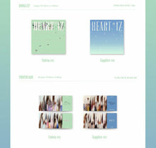 Load image into Gallery viewer, IZ*ONE IZONE - HEART*IZ (You Can Choose Ver + Free Shipping)