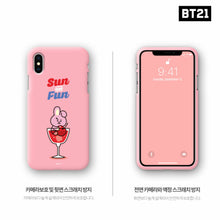 Load image into Gallery viewer, [BT21] Official Color Soft Jelly Summer Case ''Fun Series''