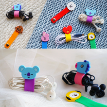 Load image into Gallery viewer, [BT21] Official Colorful Cable Cord Ties