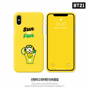 [BT21] Official Color Soft Jelly Summer Case ''Fun Series''