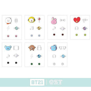 [BT21] OST Silver 925 Earrings