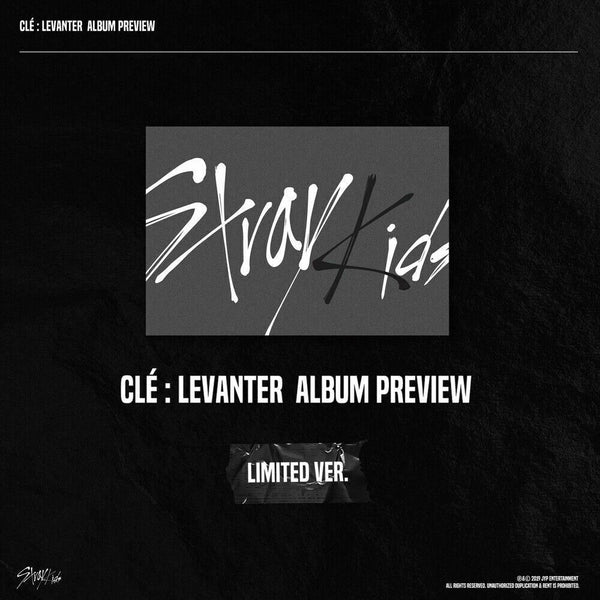 STRAY KIDS - Clé : LEVANTER (Limited ver.+Free Shipping)