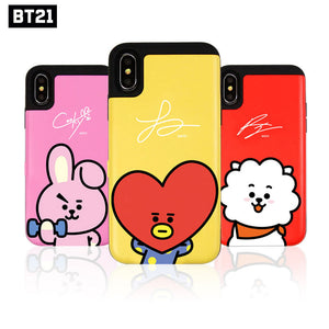 [BT21] Official Authentic Goods Card Bumper Case for iPhone / Galaxy