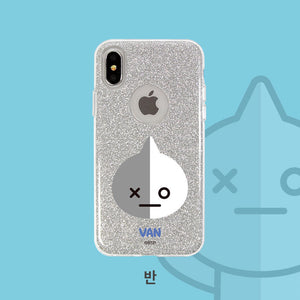 [BT21] Glitter Case for Iphone and Galaxy