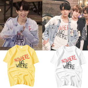 [SEVENTEEN] WonWoo Style ''No Where'' Shirt