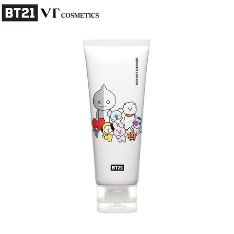 [BT21] Official VT Cosmetics Rich Whip Cleanser (100ml - 3.38fl.oz)