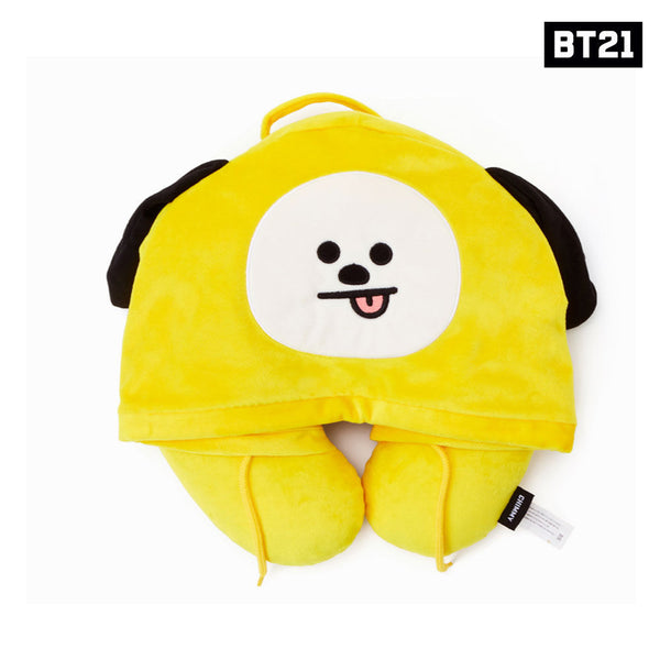 [BT21] Travel Pillow with Hood